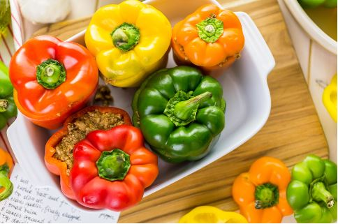 Food - Meals - Italian Stuffed Peppers