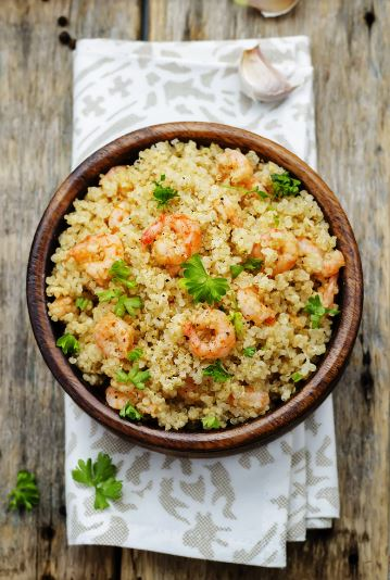 Food - Meals - Zesty Shrimp Quinoa