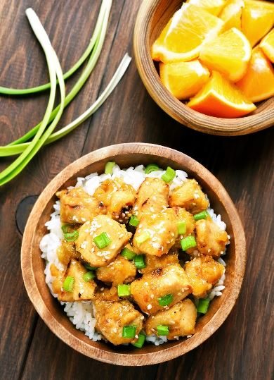 Food - Meals - Easy Orange Chicken