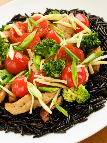 Broccolini Chicken and Rice