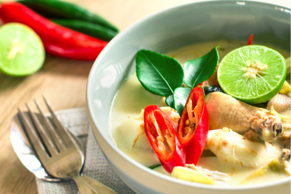 The Best Thai Chicken Coconut Soup