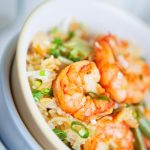 Adrenal Reset Diet Spicy Shrimp and Beans