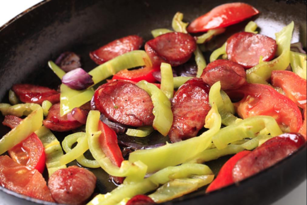 Roasted Veggies & Sausage