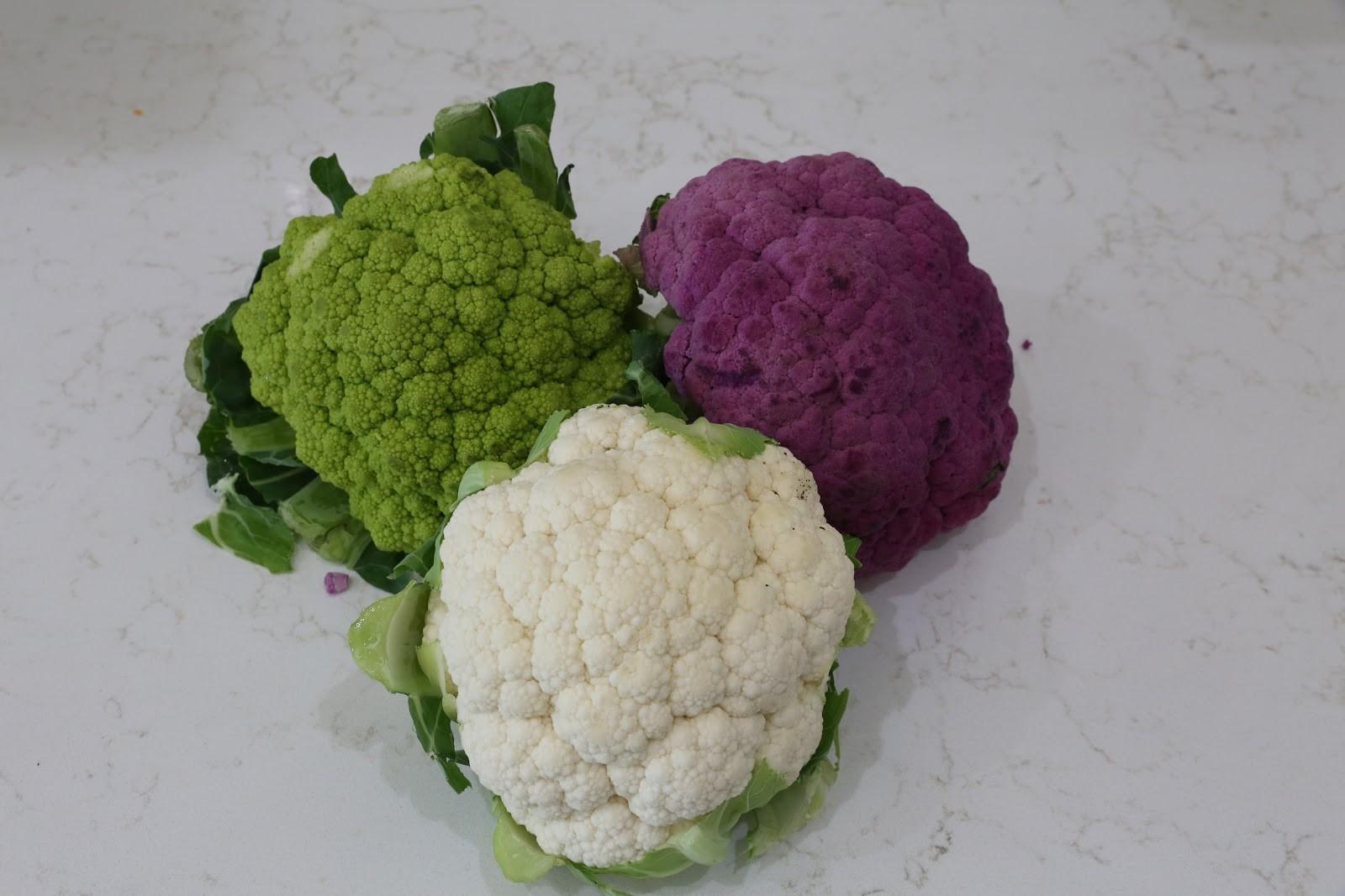 Roasted Rainbow Cauliflower