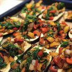 Savory Eggplant Boats