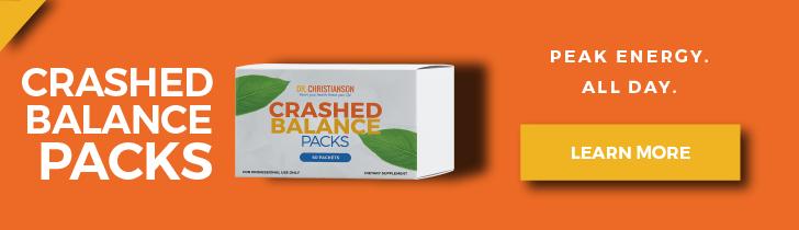 Crashed Balance Packs - Dr. Alan Christianson