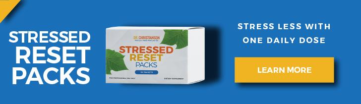 Stressed Reset Packs - Dr. Alan Christianson
