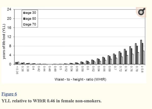 height-to-waist ratio