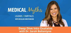 Podcast Deep Dive into Oxalates with Dr Sarah Ballantyne