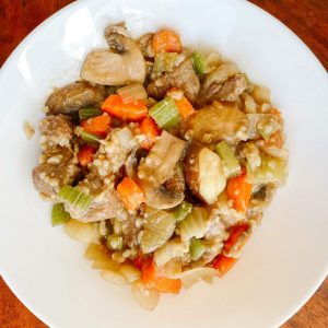 Lamb and Carrot Stew
