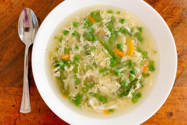 egg white drop soup