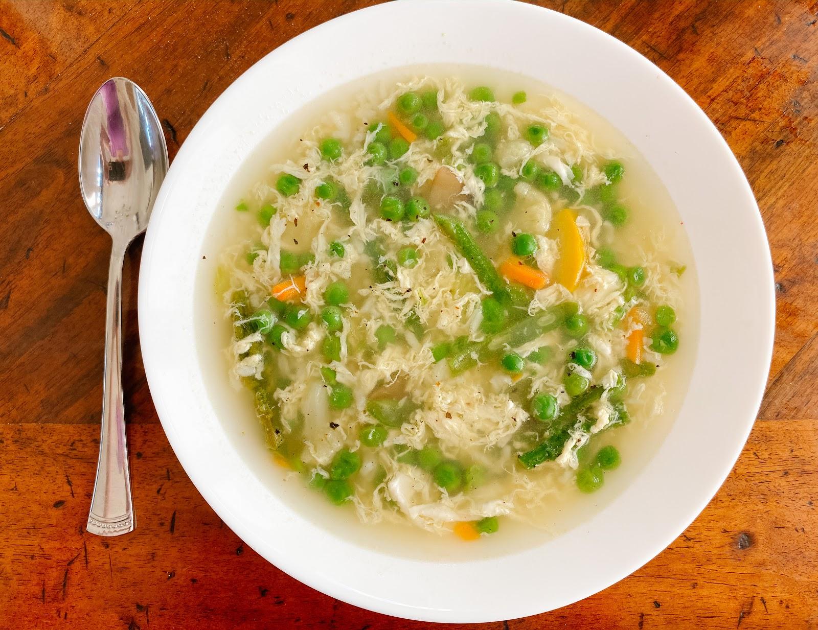 Egg (White) Drop Soup